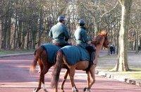 La brigade équestre municipale