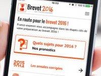 L'appli « Brevet 2016 » vous booste avant, pendant et après les épreuves